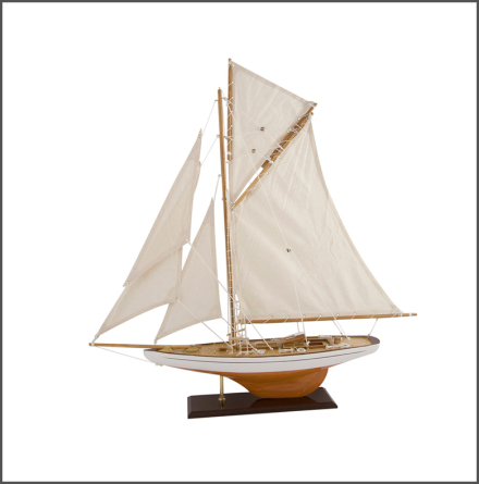 Segelbåt Columbia 79 vit