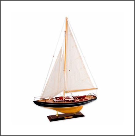 Segelbåt Concordia blå