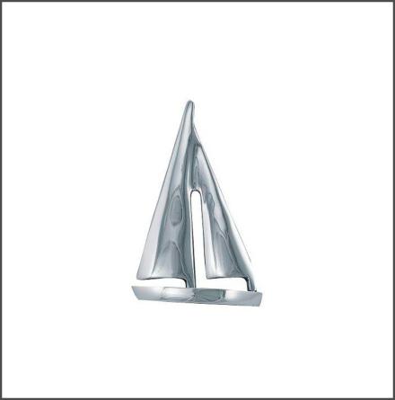 Segelbåt nickel finish liten